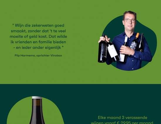 Flip Harmsma, oprichter Vinobox