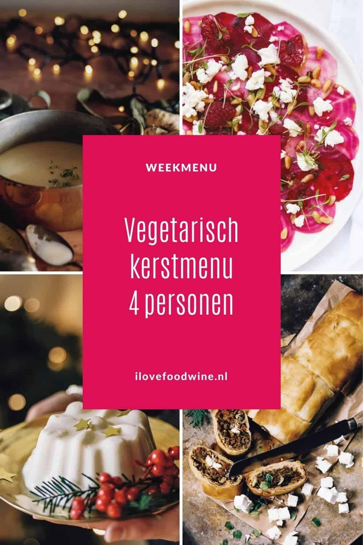 Kerstmenu vegetarisch 2020. Heerlijk vegetarisch kerstmenu waarbij je het vlees niet mist. Met een smaakvolle pastinaaksoep, een heerlijke hartige strudel en een kokosbavaroise als dessert. Oogstrelende starter: bietencarpaccio. Met bijpassend wijnadvies. Plus 72 kerst win-cadeaus. #kerstmenu #vegetarisch #makkelijk