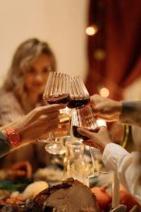 turkey and wine: Thanksgiving van Femke Pruis