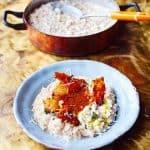 Kalkoen recept Jamie Oliver risotto met prei