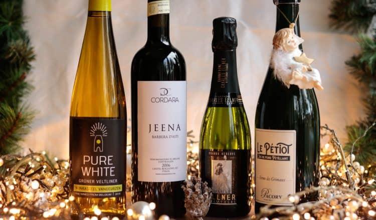Kerst wijnbox Tire Bouchon 4 flessen