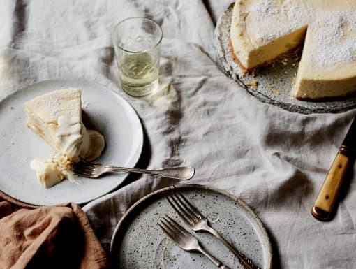Cheesecake met macadamianoten