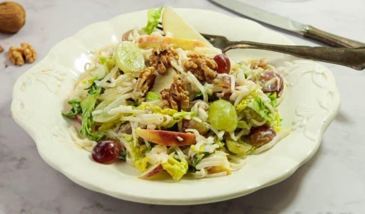 Waldorf salade met druiven