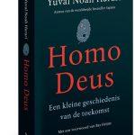 Boek Homo Deus cover