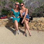 Ninah en Jolande in Frankrijk