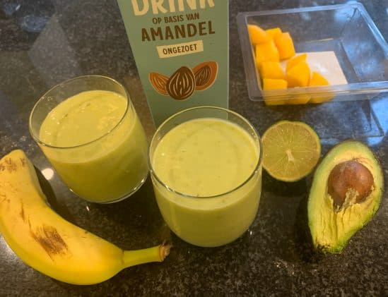 Limoen-mango Super Smoothie