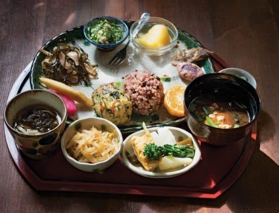 Zeewier tapas van Okinawa