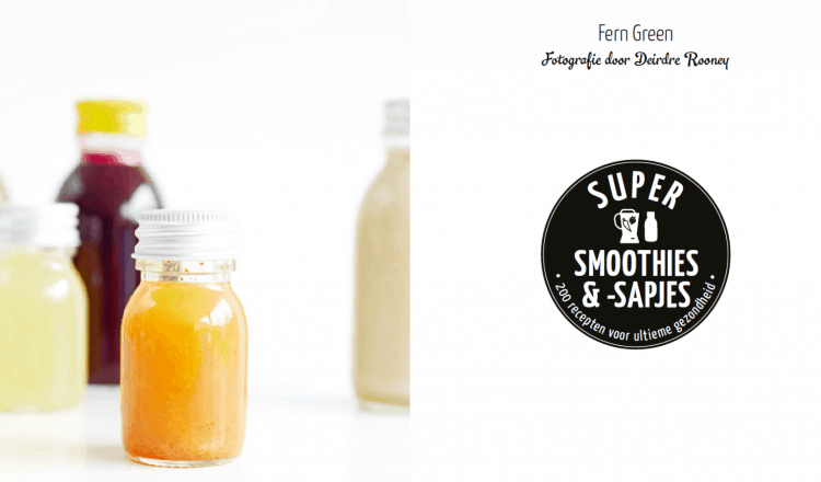 Gezonde smoothies uit Super Smoothies