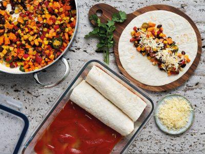 Enchilada's vegetarisch : zo worden gerold
