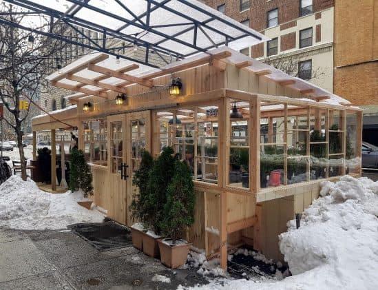 Houten chalet in New York