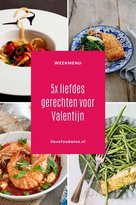 5x liefdes gerechten als de romantiek op tafel moet. Geschikt voor een heerlijk romantisch Valentijnsdiner. Met ingrediënten die de geslachtsdrift stimuleren. Uiteraard met een bijpassend glas wijn. Rosé champagne heeft de voorkeur. #valentijnsdag #romantiek #liefde #verleiding