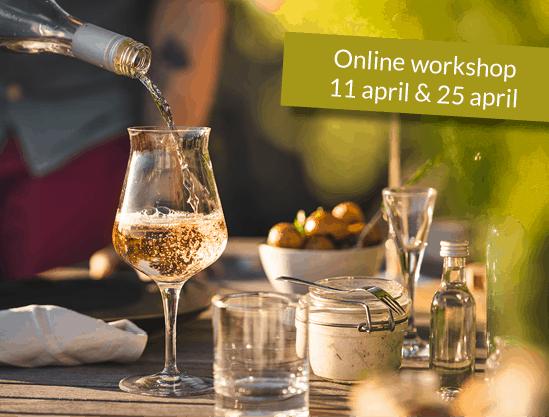 Foodpairing online zoom workshop Word een volleerd thuissommelier