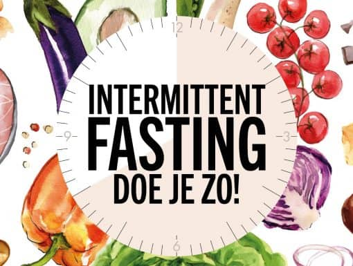 cover Intermittant Fasting van Hannah Vreugdenhil