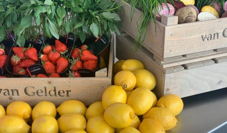 Fruit van Van Gelder met Lambada aardbeien