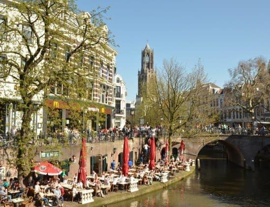 Stad Utrecht is mijn favoriete city