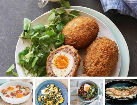 Weekmenu 14 2021 gerechten met eieren