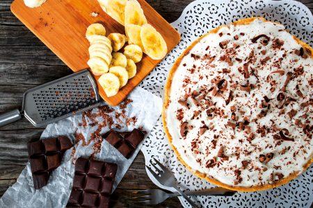 Banoffee pie uit het kookboek banaan