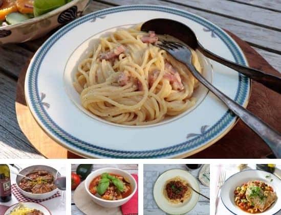 Weekmenu 21 2021 Favoriete Italiaanse recepten