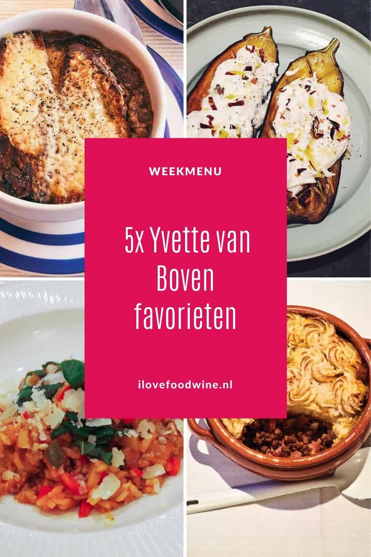 Weekmenu met 5 favoriete gerechten van de hand van onze Nederlandse tv-kok Yvette van Boven. Van shepherd's pie van haar moeder tot risotto uit de oven, Ierse uiensoep en porchetta. Met als extraatje: bevrijdingssoep 2021. Een maaltijdsoep boordevol groenten.  Recepten nodig? Ga naar de website. #Yvette van Boven #Ierland #ierserecepten