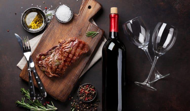 Welke wijn bij biefstuk