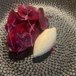 Rode biet met mosterdijs