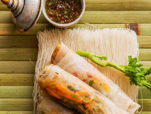 Vietnamese loempia uit het kookboek smaakmakers van Pascal
