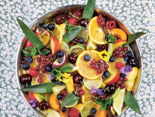 vruchtenbowl of zomer punch