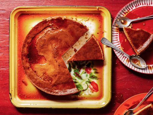 Flan Mexicana of crème caramel uit het kookboek Comida Mexicana