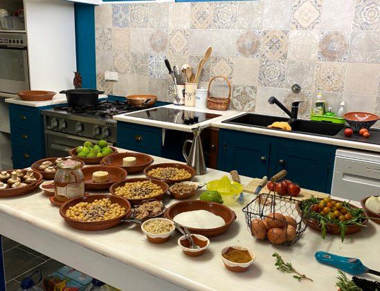 Portugese cooking school in Evora