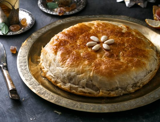 Marokkaanse bastilla met kip