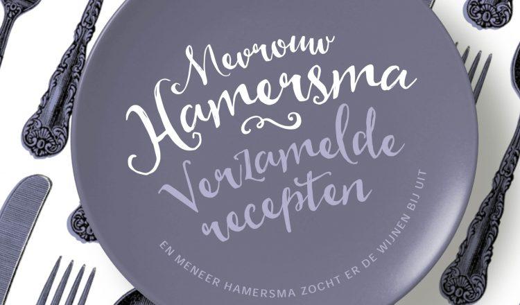 Cover Mevrouw Hamersma Verzamelde recepten liggend