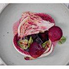 Bieten gazpacho uit het kookboek De Kas in Amsterdam