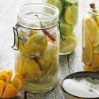 Ingelegde citroenen uit het kookboek Puur & Makkelijk